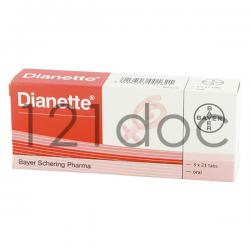 Dianette for Acne 2mg/35mcg x 63